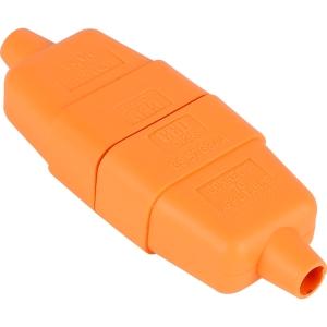 WFC52RO Flex Connector 10A 2 Core Orange