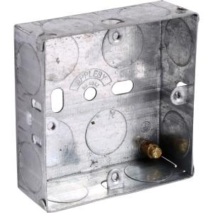 Appleby Metal Box 1 Gang 25mm Each