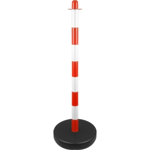English Chain 35493WK Safety Barrier Fence Post