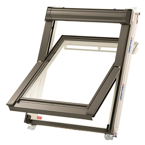 Keylite PVC Centre Pivot Hi Therm Roof Window 550 x 780mm