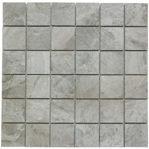 Raegan Montana Glazed Porcelain Mosaic Wall and Floor Tile 48 x 48mm