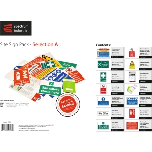 Spectrum Site Sign Pack - Selection A