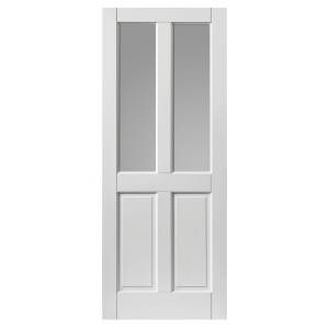 Jb Kind Colonial 4 Panel Glazed Extreme External Prefinished Door 44 x 1981 x 838mm