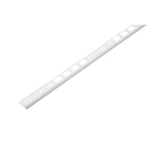 Homelux Tile Trim Standard 2500 x 6mm White