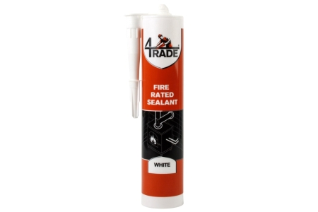 4Trade Fire and Acoustic Acrylic Intumescent Sealant White 310ml