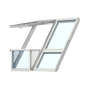 Velux CABRIO® Balcony Double Gdl SK19 SK0W224 for Tile 2380W