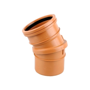 OsmaDrain Single Socket adjustable bend 0-30° 110mm 4D173