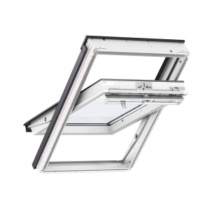 VELUX INTEGRA Electric Centre Pivot Roof Window White Painted 1140mm x 1180mm