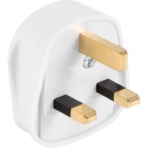 Fused Tough Plug 13A White