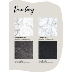 Multipanel Neutrals Bathroom Wall Panel Unlipped Dove Grey 2001