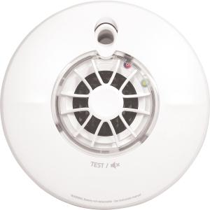 Fireangel Pro FP1720W2-R Connected Wireless Battery Interlink Heat Alarm Battery Powered