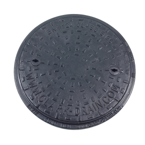 Clark-Drain Inspection Chamber Cover and Frame Ductile Iron 450mm Diameter