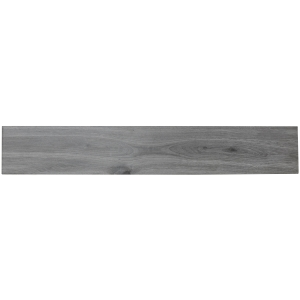 Greyson Grey Glazed Porcelain Wall and Floor Tile 150 x 900mm Pack of 8