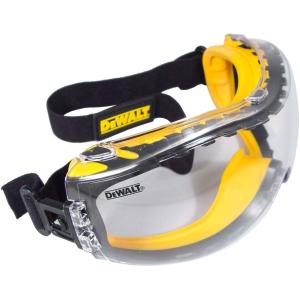DeWalt Concealer Safety Goggles with ANTI-FOG Lens