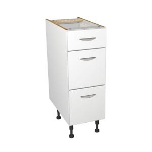 Self Assembly Kitchens Dakota 300 3 Drawer Base