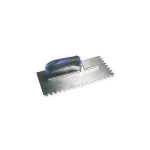 Genesis 908 8 x 8mm Soft Grip Square Notch Trowel 280 x 130mm