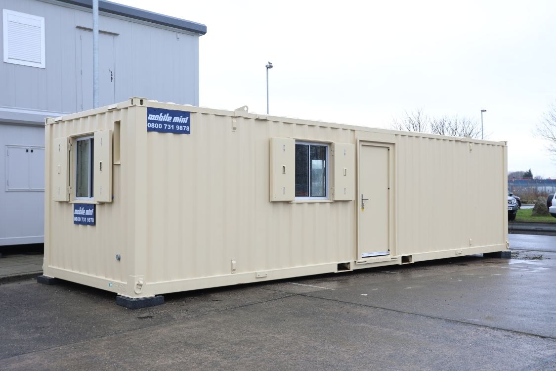 24' X 9' Anti Vandal Canteen Unit