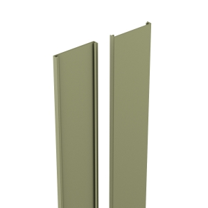 Durapost Classic Cover Strip Olive Grey 2100mm Home Delivered