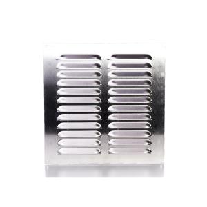 Rytons Building Products Ltd '9 x 9' Aluminium Louvre Ventilator