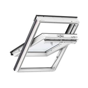 VELUX Centre Pivot Roof Window 780mm x 980mm White Polyurethane MK04 0070