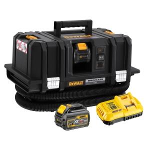 DeWalt 54V Xr Flexvolt M-CLASS Dust Extractor with 2 x 6.0AH Batteries