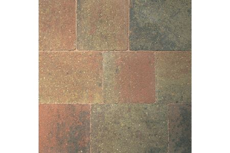Bradstone Woburn Original Concrete Block Paving Autumn 134mm x 134mm x 50mm