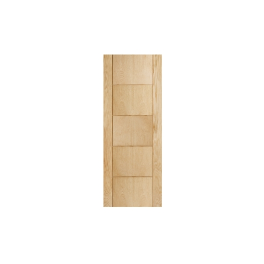 Internal 5 Groove Oak 30 Min Fire Door 1981 x 838 x 44mm