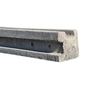 Concrete Fence Post Slotted Corner 9ft
