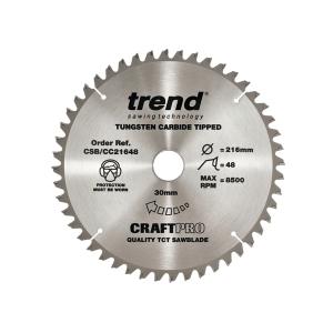 Trend Craft Blade Pt Tcp 165 x 48T x 20mm
