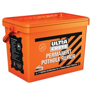 Ultracrete Permanent Pothole Repair Tub 25kg