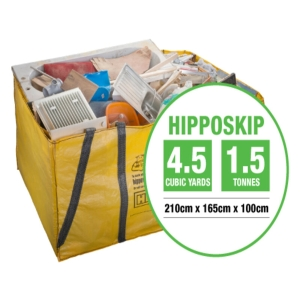 Hipposkip 2100 x 1650 x 1000mm / 4.5 Cubic Yard Skip Bag HPPSKP01