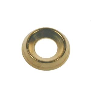 4TRADE Screw Cup 9-10g Brass Surface PK25
