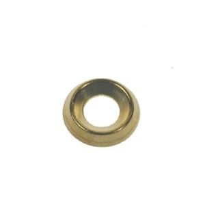4TRADE Screw Cup 7-8g Brass Surface PK25
