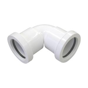 Osma Push-Fit Waste 5W160W 40mm Knuckle Bend 90ø White