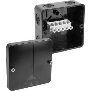 Ced Moulded PVC Box IP65 Black 93 x 93 x 55mm