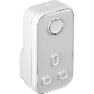 Hive HAH2SMARTPLUG Active Plug WHITE/GREY