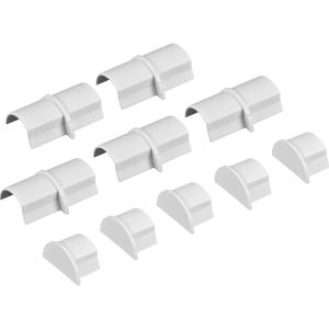 D Line Coupler & End Cap Pack Mini 5 x Coupler & 5 x End Cap