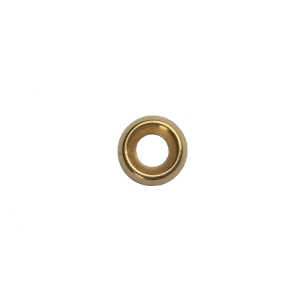 4TRADE Screw Cup 7-8g Brass Pack of 25