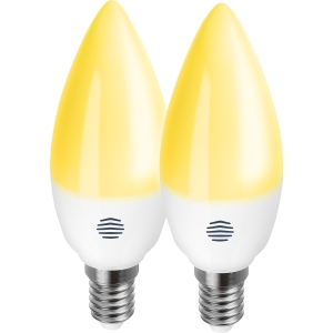 Hive UK7003205 Active Light Dimmable Smart LED Candle Bulb E14 2 Pack