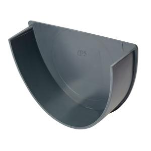 Osma Deepline Stopend Internal Anthracite Grey 113mm