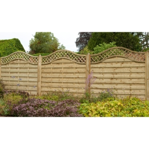 Europa Prague Fence Panel 1800mm x 1800mm - Pack of 4