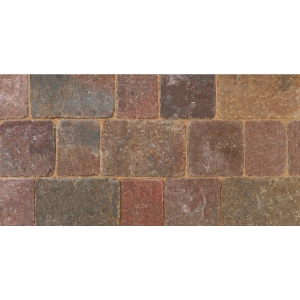Bradstone Woburn Rumbled Concrete Block Paving Rustic 134mm x 134mm x 50mm - Pack of 504