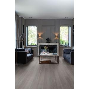 Quick Step Luxury Vinyl Tile Balanced Silk Oak Dark Grey Flooring 1251 x 187 x 4.5mm Pack Size 2.105m2
