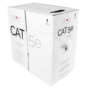 Pitacs CAT5E Data Cable 305m Boxed