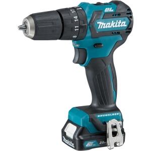 Makita CXT 12V Cordless Brushless Combi Drill 2 X 2.0Ah Li-Ion Batteries HP332DSAJ