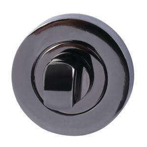 Hafele Bathroom Escutcheon Black Nickel