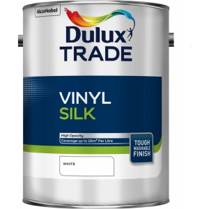 Dulux Trade Vinyl Silk Paint White