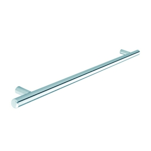 Bar Handle (Stainless Steel Effect) 128mm Centre