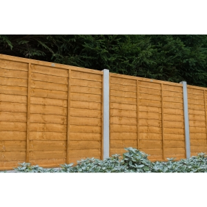 Trade Lap Dip Treated Fence Panel 1.83m
