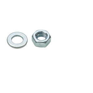 Rawl Nuts & Washers M6 Zinc Plated Pack of 20